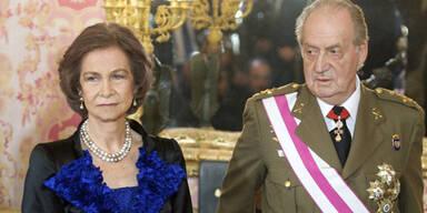 Königin Sofia, König Juan Carlos von Spanien