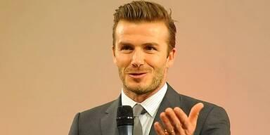 Beckham blamiert Sohn beim 1. Date