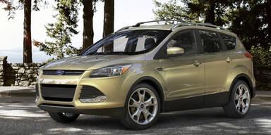 Das ist der neue Ford Kuga bzw. Escape