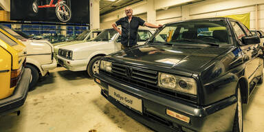 Dieser Wiener besitzt größte VW-Golf-Sammlung