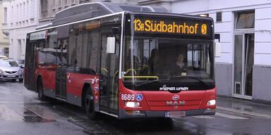 Linien-Bus 13A in Wien