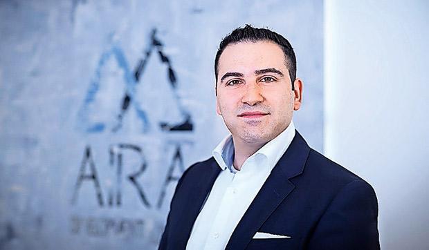 Roman Ascherov, Geschäftsführer der AIRA