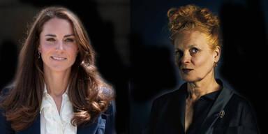 Westwood kritisierte Kates Modefimmel