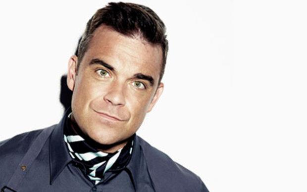 Robbie stellt Modekollektion vor