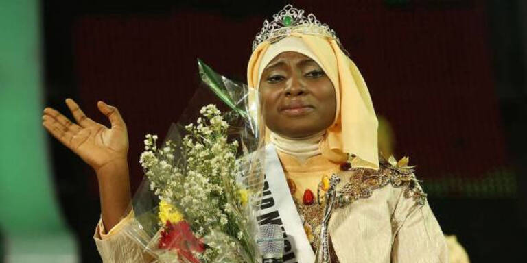 """""""Miss Muslim World"""" kommt aus Nigeria"""