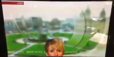 Kamerafehler während Live-Sendung