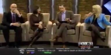 Penis-Panne schockt Moderatoren