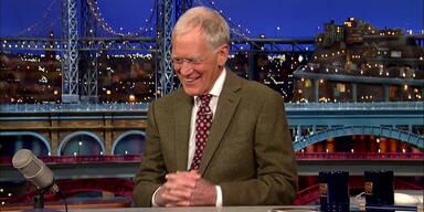 David Letterman hört 2015 auf