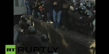 Auch in Lugansk kommt es zu Unruhen