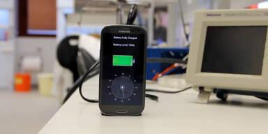 Galaxy S4 in 30 Sekunden geladen