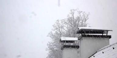 So kommen Kälte und Schnee nach Österreich
