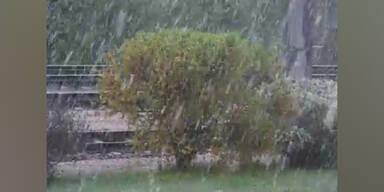 Später Wintereinbruch - Es hat geschneit!