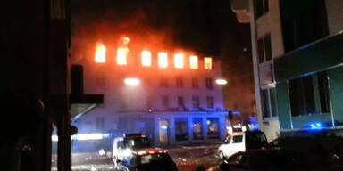 Neues Video des Brandes aufgetaucht
