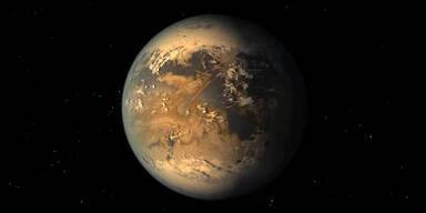 Zweite Erde entdeckt