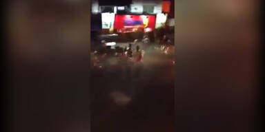 Gewalt in WM-Spielort in Brasilien