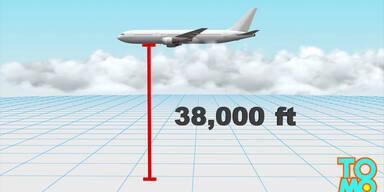 Teenager überlebt Flug in Fahrwerkschaft
