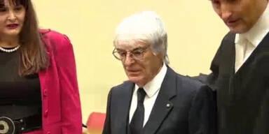 Formel-1-Chef Ecclestone vor Gericht