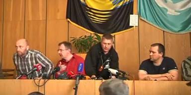 OSZE-Beobachter noch immer gefangen