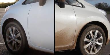 Nissan: Lack reinigt sich selbst