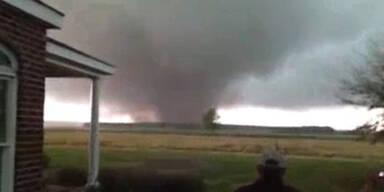So extrem wüten 30 Tornados