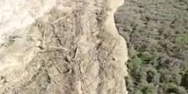 Gigantischer Erdrutsch: 3 Personen vermisst