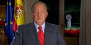 König Juan Carlos dankt ab