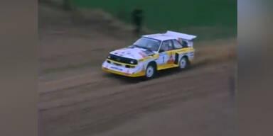 Rallye fahren in den 80er Jahren