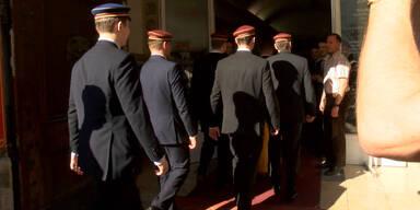 Im Palais Palffy trafen sich Burschenschafter aus ganz Österreich