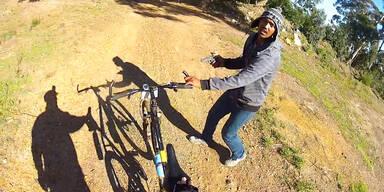 Bewaffneter Überfall auf Radfahrer