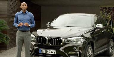 Weltpremiere: der neue BMW X6