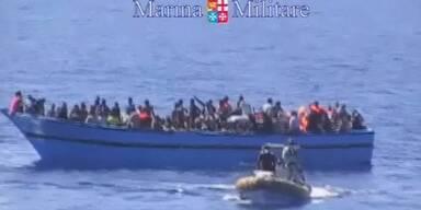 2500 Flüchtlinge vor Italien gerettet