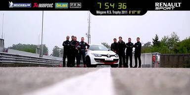Renault Mégane R.S. Trophy mit Nordschleifenrekord