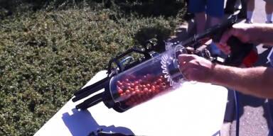 Die ultimative Paintball-Minigun