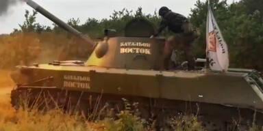 Separatisten haben Waffen aus Russland