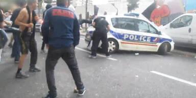 Massive Ausschreitungen in Paris