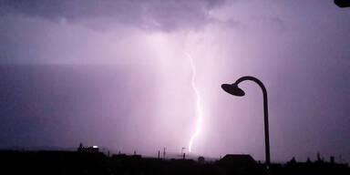 Video: Gewitter über Wien
