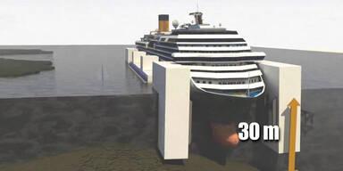 Costa Concordia wird geborgen
