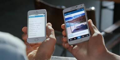 Samsung macht sich über iPhone lustig