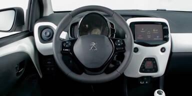 So charmant ist der Peugeot 108 innen