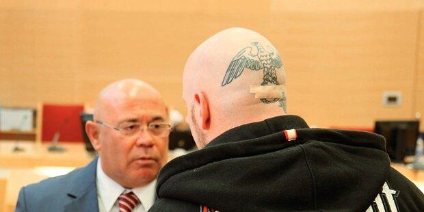 Haft für Neo- Nazi-Bosse