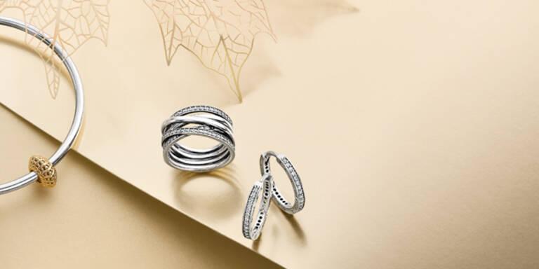 Ringe in fantastischen Designs