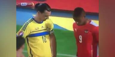 Rubin Okotie ärgert Ibrahimovic