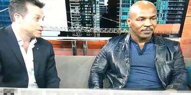 Mike Tyson beschimpft Moderator
