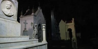 Ein Friedhof als Kino