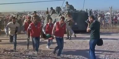 Flüchtlingswelle in die Türkei