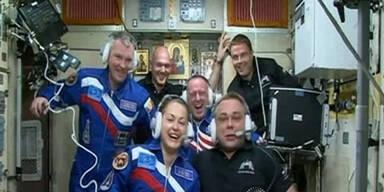 Sojus-Kapsel erreicht die ISS