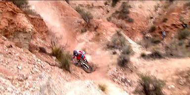 Mountainbiking ist gefährlich