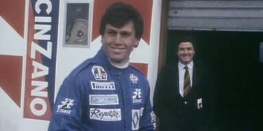 Andrea de Cesaris verunglückt