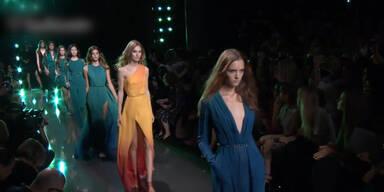 Elie Saab auf Pariser Fashion Week
