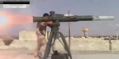 Schwere Kämpfe finden in Syrien statt
